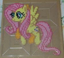 Fluttershy Perler by The-Original-Kopii