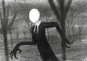 Slender Man is coming. by Eatts