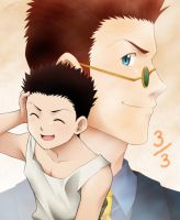 Then and Now - Leorio by LauraPaladiknight