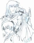 Band of the Hawk Pencils by arsenalgearxx