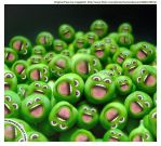 Give peas a chance ! by HumanDescent