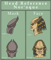 Head Reference: Nor'aque by Nickarooski