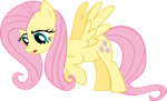 Fluttershy Sigh by Synthrid