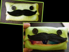 Senor Mustache Tissue Holder by Shlii
