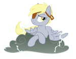 Derpy and Lil' Sparky by Equestria-Prevails