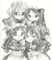 Lucky star finished valentine by sinxism