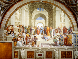 School of Athens by Raphael by TatharAmandil