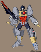 Classics Grimlock - TV Colors by BoggeyDan