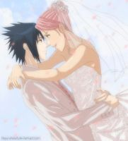 sasusaku: wedding day by Nishi06