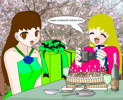 Me and Sam BIRTHDAY GIFT by SailorStarMiracle