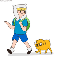 Finn and Jake by SuperTuffPinkPuff