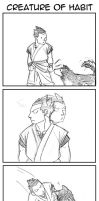 FMA 4koma: Creature of Habit by HighwindEngineer03
