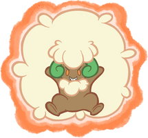Pokedexxy Challenge - Day05 - Whimsicott by JulieKarbon