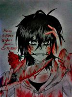 A Rose For Your Life [Jeff The Killer] by Tsukiakari-Aya