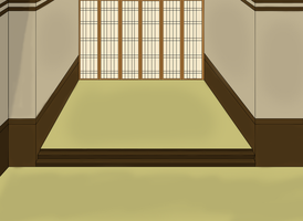 Hetaoni Tatami Hall Background by HNC1997