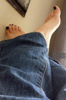 Feet in Jeans by NattyToes