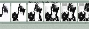 How i work: Ancafe Kanon by Sydia