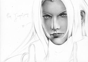 Sephiroth - Mako Glare WIP1 by Cataclysm-X