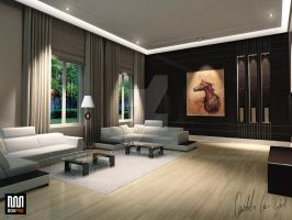 Interior132 Modern At. by COZEL