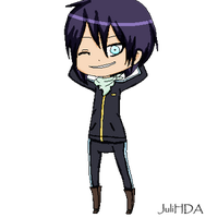 [Pixel Art] Noragami: Yato~ by JuliHDA