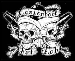 cannonball art lab logo by bhbettie