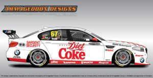 Diet Coke BMW by ArmageddonDesigns