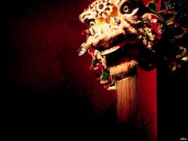 chinese dragon by Goldenmoonmodel