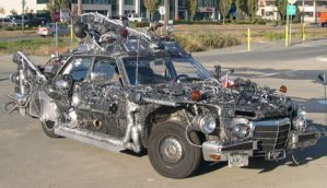 space junk - art car 1 by rotnhell