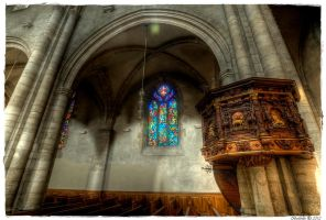 Sion Cathedral interior I by Bodenlos