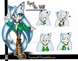 Kyari the Wolf by KynneWolfG