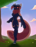 Morning Walk by Derp-Acolyte