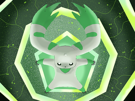 Terriermon Shinka by WeisseEdelweiss