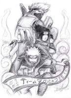 Team 7 no jutsu by anla