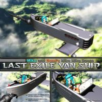 MMD Last Exile Van Ship - Silverwing Pegasus by Trackdancer