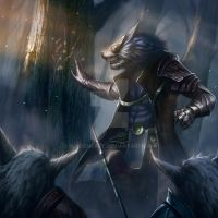 Wulven-Tactician2 by Bladdneart