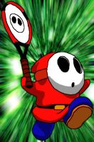 Shy Guy Tennis by Spitfire666xXxXx