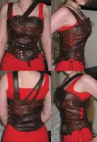 Leather Cuirass by RohanElf