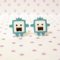 chomper earrings by coonies