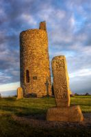Round Tower, Old Kilcullen by knapb