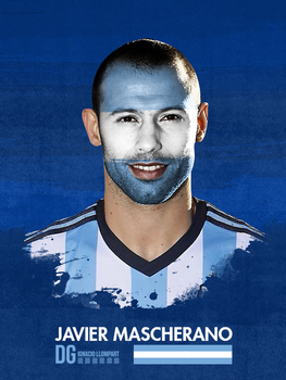 Mascherano Poster World Cup by ignaxxx