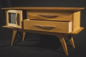 Mid-Century Inspired Night Stand by thinkreate