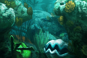 Underwater Study Challenge - 2 hrs by daPatches