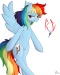 Rainbow Dash by MrStufflebeam