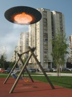 UFO Sighting: Belgrade by brankovukelic