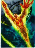 The Human Torch by DaveDeVries