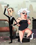 John and Divine - Commission by DrewGreen