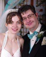 Me and my Wife on our wedding day by LoveJustice