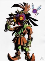 Majora's Mask: Skull Kid #2 by neruzal