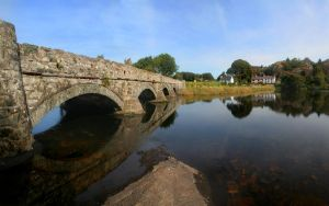 Brynrefail Bridge by nectar666