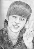 Daehyun of B.A.P by GabbeyMarie